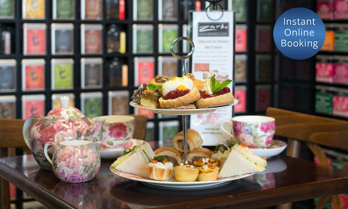 Zarbo - Zarbo - Newmarket: High Tea for Two ($25), Four ($49) or Eight People ($95) at Zarbo, Newmarket (Up to $212 Value)
