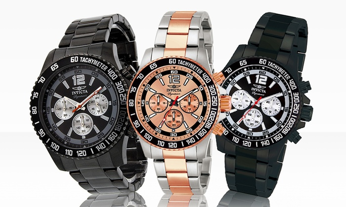 Invicta Signature Men's Chronometer Watches: Invicta Signature Men's Chronometer Watches. Multiple Styles Available. Free Shipping and Returns.