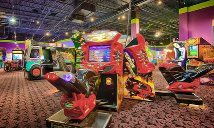 Unlimited Attractions and Games, Buffet, and Drinks for Two or Four at iT'Z Family Food & Fun (Up to 51% Off)