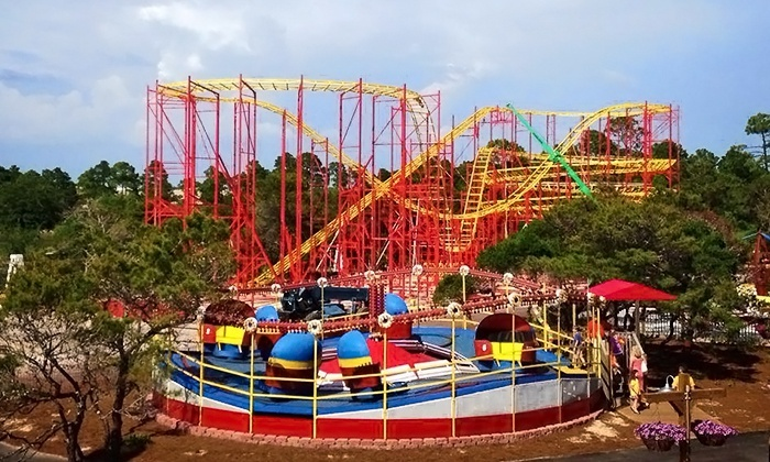 Miracle Strip Amusement Park - Miracle Strip Amusement Park: Day of Rides with Corn Dog or Funnel Cake & Drink for 1, 2, or 4 at Miracle Strip Amusement Park (Up to 39% Off)