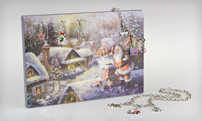 Christmas Advent Charm Jewelry Set: $13 for a Christmas Advent Charm Jewelry Set ($30 List Price)