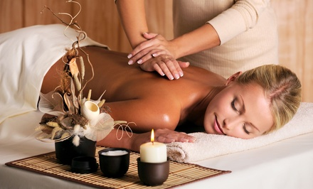 $49 for a Deep Tissue Massage with Feet Treatment at A Touch of a Feather Day Spa ($100)