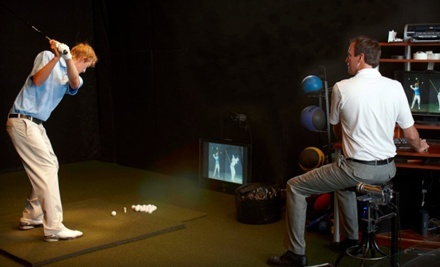 One or Three 60-Minute Private Golf Lessons with PGA Teaching Professional Tommy Sharp at Golf Lab (Up to Half Off)