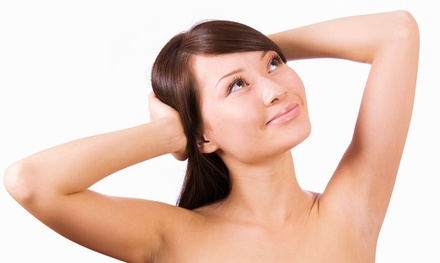 Six Laser Hair-Removal Sessions for Two Small Areas, One Medium Area, or One Large Area (Up to 84% Off)