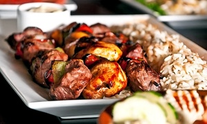 Al Wadi Restaurant: Lebanese Cuisine for Two or Four or More at Al Wadi Restaurant (Up to 47% Off). Four Options Available.