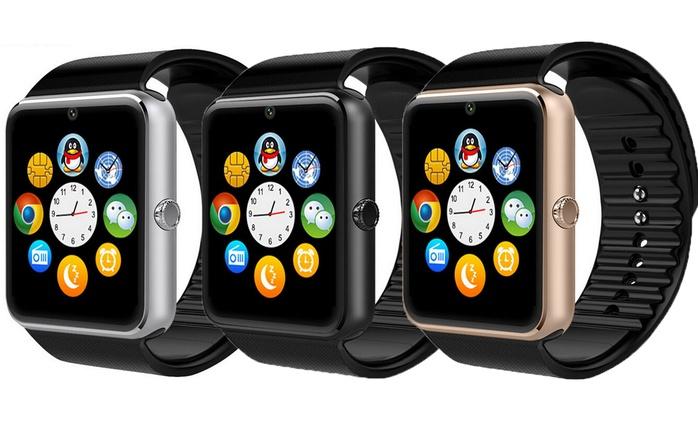 Smartwatch mit Edelstahlgehäuse in der Farbe nach Wahl inkl. Versand (80% sparen*)