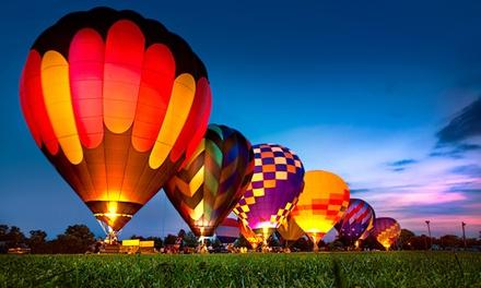 Wertgutschein über 100 € anrechenbar auf ein ca. 4-stündiges Ballon-Event der Luftsportschule Gerhart Berwanger