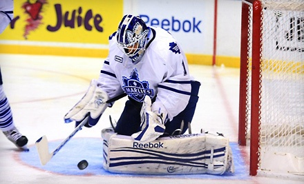 Toronto Marlies vs. Rochester Amerks at Ricoh Coliseum on Thu., Apr. 19 at 7PM: End-Zone Seating - Toronto Marlies in Toronto