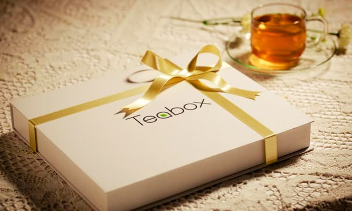 Teabox: $20 for $50 Worth of Loose-Leaf Tea and Gift Boxes from Teabox