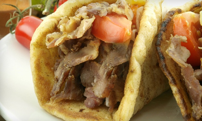 Chicago Gyros - Clifton Heights: Gyro or Burger Meal for Two or Four, or Gyro Catering Package for 10 from Chicago Gyros (Up to 54% Off)