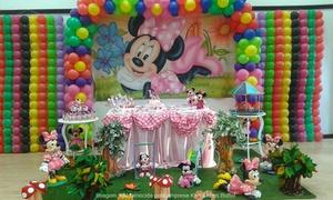 Karlotinhas Buffet: Karlotinhas Buffet: festa infantil em domicílio para 50, 80 ou 100 pessoas