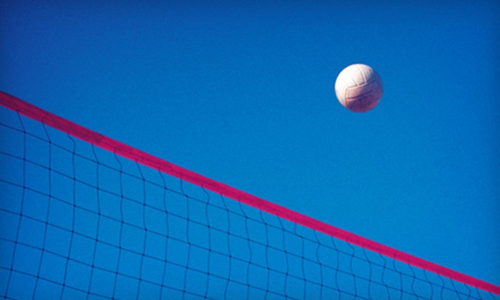 Wok's Up Beach Volleyball - Rockwood: $30 for a Two-Hour Sand Volleyball Court Rental for up to 20 at Wok's Up Beach Volleyball ($60 Value)