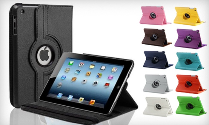 MobileUwire - Northwest Side: $14.99 for a Synthetic Leather iPad Mini Case from MobileUwire ($29.99 Value)