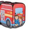 Pop-Up Fire Truck Play Tent
