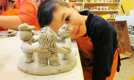 Six Clay Classes for Adults or Kids at Clay for Kids Pottery Studio (Up to 50% Off)