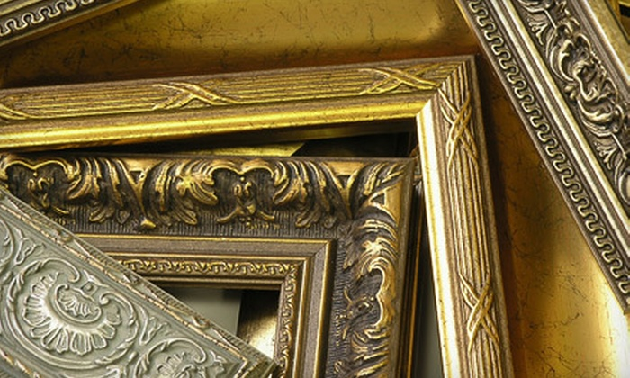 LeMieux Galleries - Multiple Locations: $45 for $110 Worth of Custom Framing at LeMieux Galleries