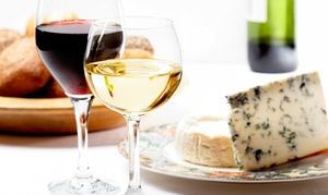 Gone West Cellars: Wine Flight with Cheese and Hummus Plate, and Glass of Wine for Two or Four at Gone West Cellars (51% Off)