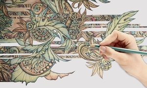 Creative Colouring Course: Online Adult Colouring and Artist Course (97% Off)