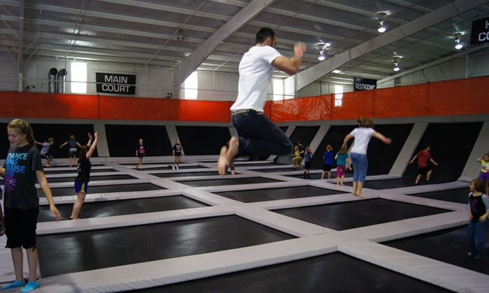 Elevation Trampoline Park Edmond in Edmond OK Groupon