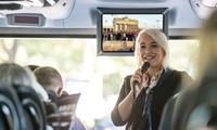 2 Std. videoBustour zu den Themen Zeitreise, Filmstadt oder Hauptstadt des Verbrechens mit Zeitreisen (27% sparen*)