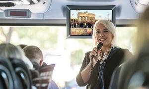 Zeitreisen: 2 Std. videoBustour zu den Themen Zeitreise, Filmstadt oder Hauptstadt des Verbrechens mit Zeitreisen (27% sparen*)