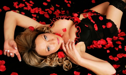 Boudoir Photoshoot With Makeover