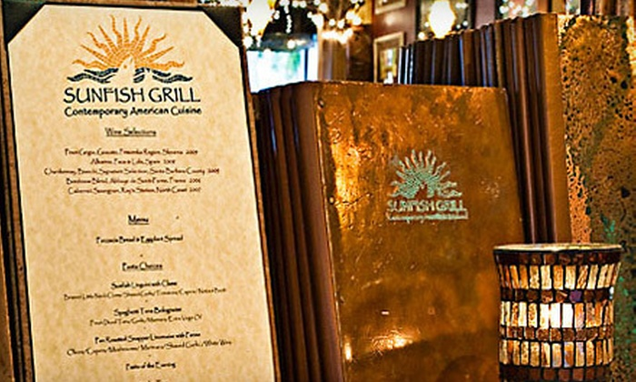 Sunfish Grill - Coral Ridge at Oakland Park Boulevard and Bayview Drive: Four-Course Prix Fixe Dinner at Sunfish Grill (Up to 55% Off). Four Options Available.