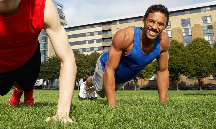 Downtown Fitness World - Marina: 10 or 15 Hulk WorkoutBoot-Camp Sessions at Downtown Fitness World (Up to 84% Off)