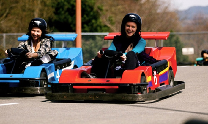 Castle Fun Park - Abbotsford: $25 for $50 Worth of Family Attractions at Castle Fun Park
