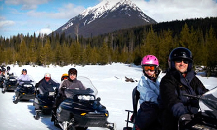 Awesome All Season Adventures - Golden: $89 for a Three-Hour Snowmobile Tour from Awesome All Season Adventures ($189 Value)