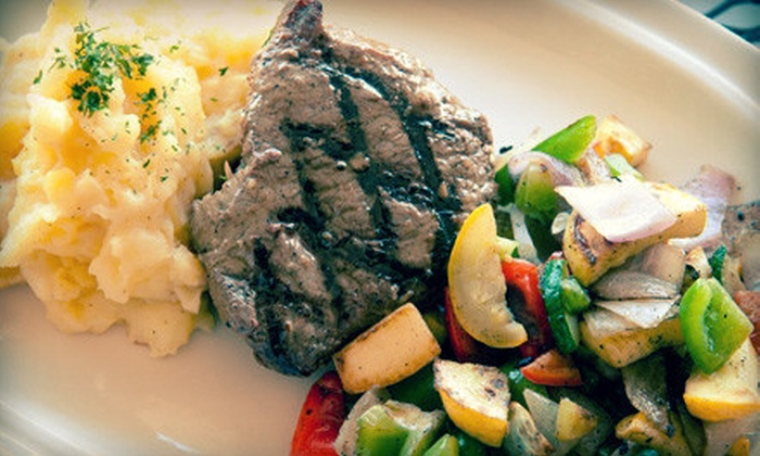 The Ridge Eat & Drink - Vestavia Hills: Upscale Pub Fare at The Ridge Eat & Drink (Up to 52% Off). Two Options Available.