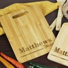 Up to 67% Off Personalized Bamboo Serving or Cutting Board