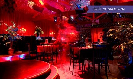 Cabaret and Burlesque Show with a Three-Course Dinner and Bubbly for Up to Ten at Proud Cabaret Camden (Up to 60% Off)