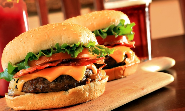 LuLu's Tavern - Kenne-Military Road: Burgers and Sandwiches at Lulu's Tavern (Up to 53% Off). Two Options Available.