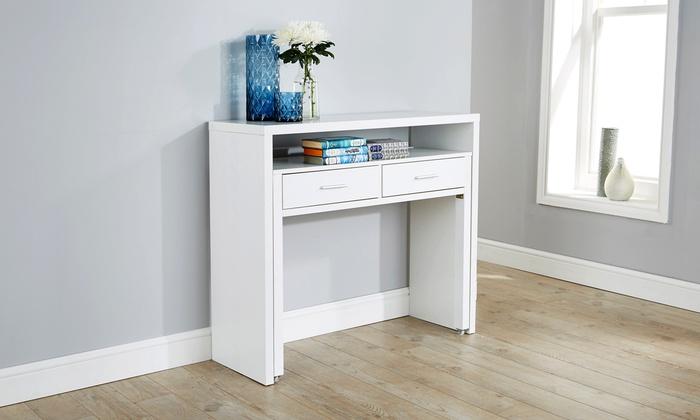 Regis Extendable Console Desk