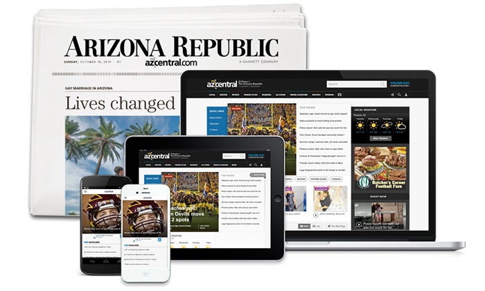 The Arizona Republic: $19.95 for a 20-Week Sunday-Edition Subscription to The Arizona Republic ($112.65 Value)