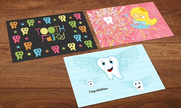 Custom Postcards from the Tooth-Fairy, Easter Bunny, or Santa