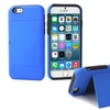3D Luxe Dual-Layer Credit-Card Case with Stand for iPhone 6 Plus