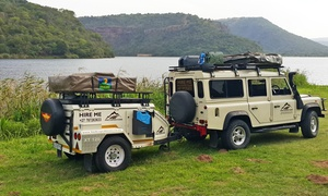 4WD Expeditions: One Day 4x4 with Trailer Hire from R1 299 at 4WD Expeditions (Up to 40%)