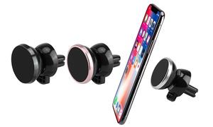 LAX Gadgets Magnetic Matte Air Vent Car Mount Universal Phone Holder