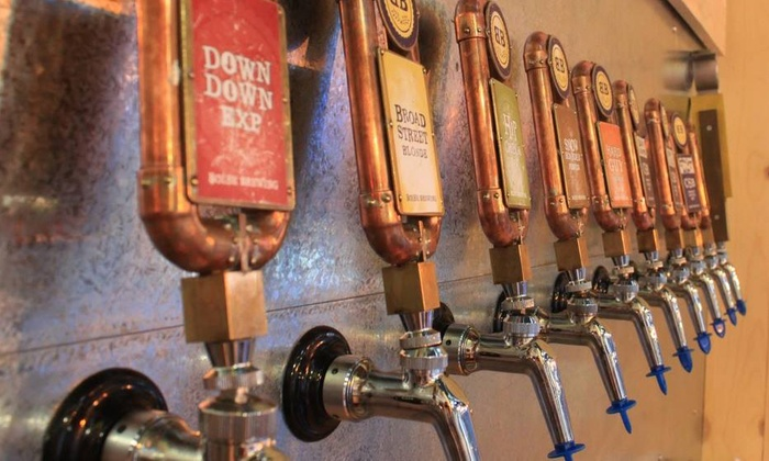 Boise Brewing - Downtown: $12 for a Growler Package with a Container and Refill at Boise Brewing ($20 Value)
