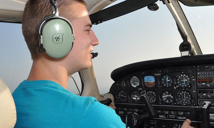 Air-Mods Flight Training Center - Robbinsvile: Introductory Flight Package with Ground Training for One or Two at Air-Mods Flight Training  Center (51% Off)