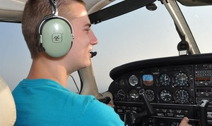 Air-Mods Flight Training Center: Introductory Flight Package with Ground Training for One or Two at Air-Mods Flight Training  Center (53% Off)