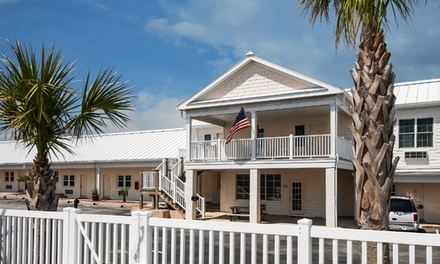 groupon daily deal - Stay at Island Inn of Atlantic Beach in North Carolina, with Dates into May