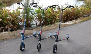 Hollywood Beach Trikke: Two-Hour Electric Trikke Tour for One, Two, or Four from Hollywood Beach Trikke (Up to 63% Off)