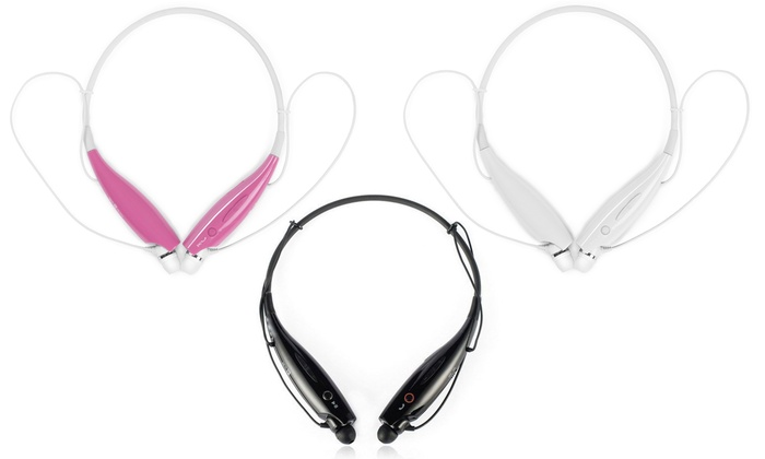 Behind-the-Neck Bluetooth Headset