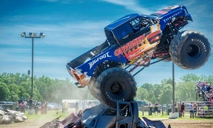 Night of Fire and Destruction: Monster Truck and Motorcycle Thrill Show: KSR Monster Truck and Motorcycle Thrill Show at Maple Grove Raceway on Sunday, September 6, at 7 p.m. (Up to 66% Off)
