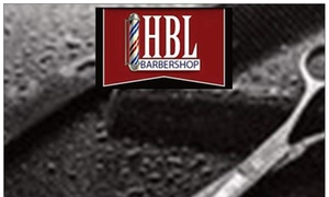 HBL BARBERSHOP: Up to 51% Off Men's Haircut and Shave at HBL BARBERSHOP
