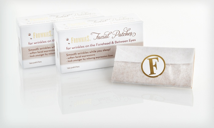 Frownies Anti-Aging Facial Patches: $19.99 for Two Boxes of Frownies Anti-Aging Facial Patches ($39.90 List Price). Free Shipping.