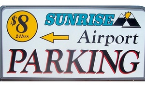 38% Off at Sunrise Airport Parking at Sunrise Airport Parking, plus 6.0% Cash Back from Ebates.
